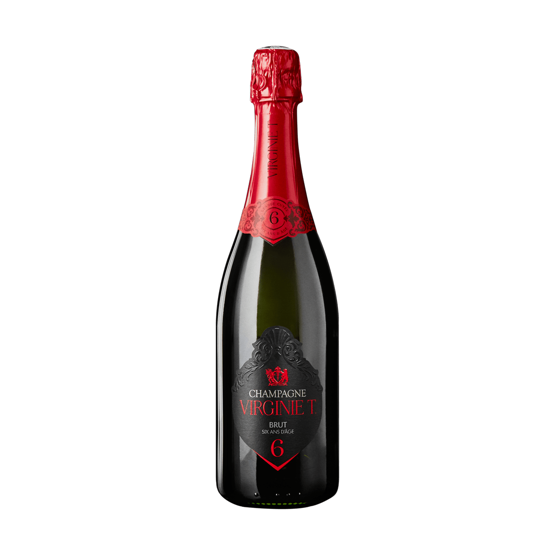 VIRGINIE T. Grande Cuvée - Étui Noir x 6